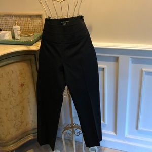 BCBG 3/4 length black slacks
